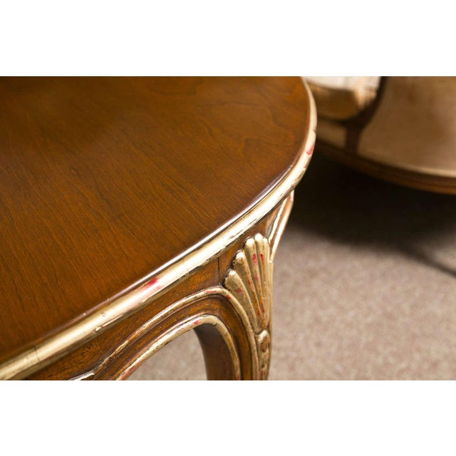 French Louis XV Style Oval Dining Table by Jansen - Image 4 of 8
