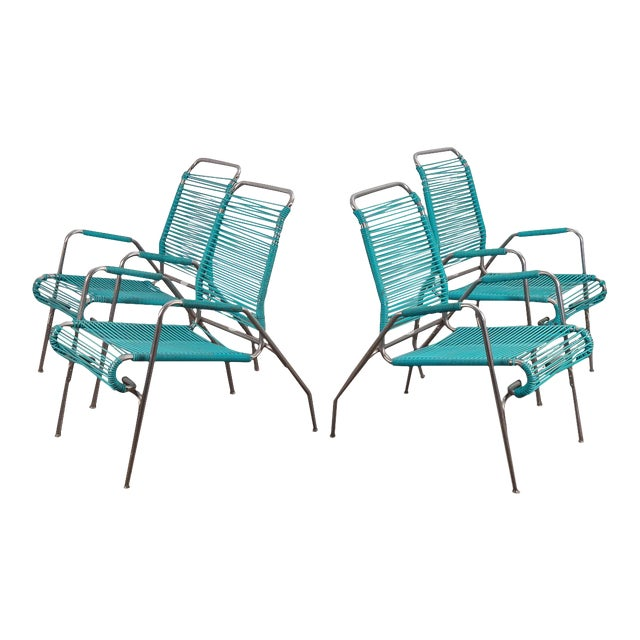 Ames Aire Patio Chairs - Set of 4 For Sale