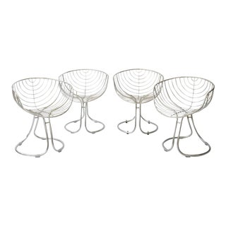 """Vintage """"Pan Am"""" Chairs - Set of 4 For Sale"""