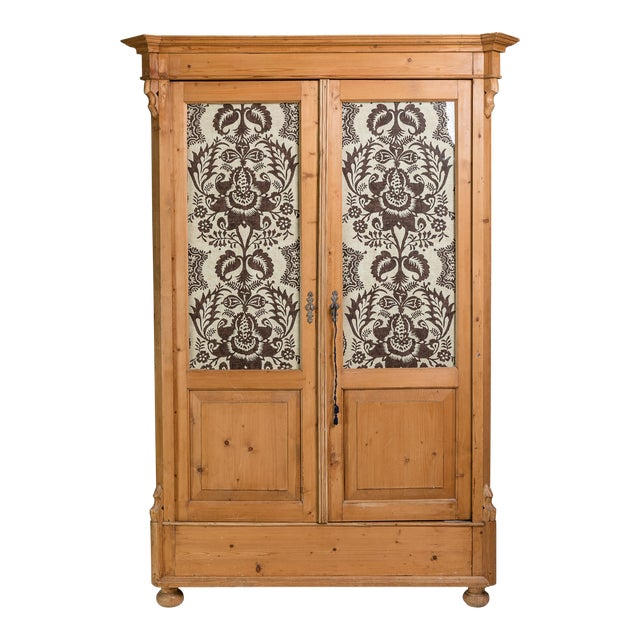 19th Century English Pine Armoire - Image 1 of 11