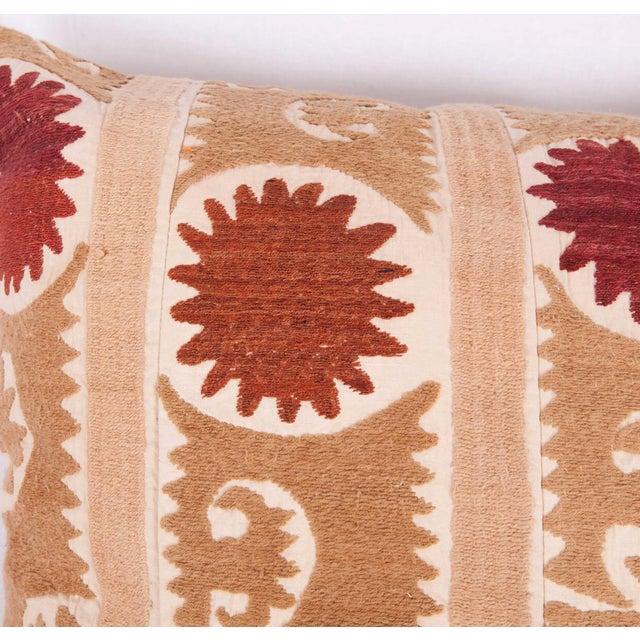 Boho Chic Vintage Tribal Band Turkish Accent Pillow Cover For Sale - Image 3 of 6