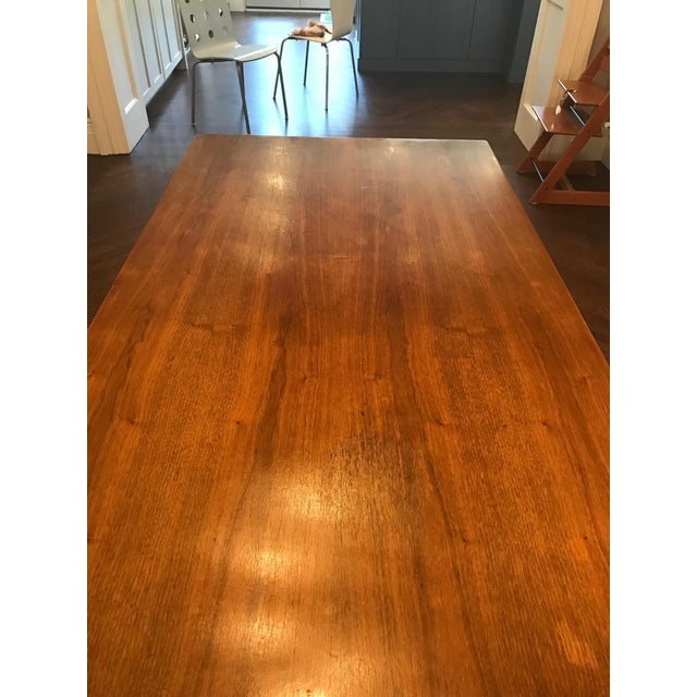 Danish Modern Dining Table with Two Leaves - Image 5 of 11