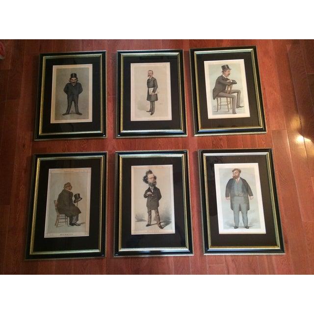 Original Vanity Fair Lithographs - Set of 6 - Image 2 of 11