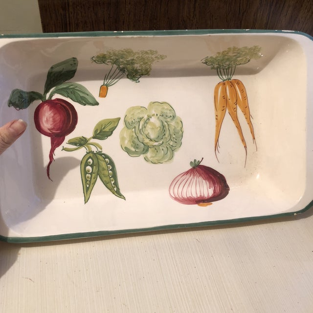 Calling all cabbage lovers and majolica fans-this dish will pair nicely with your collection! Cabbage, Carrots, Onions,...