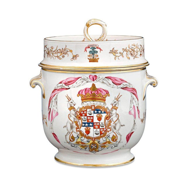 English Traditional Duke of Hamilton Porcelain Service by Derby and Duesbury For Sale - Image 3 of 7