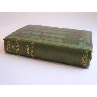 Antique Green Hard Cover Book Preview