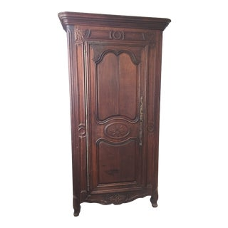 Late 19th Century French Oak Armoire For Sale