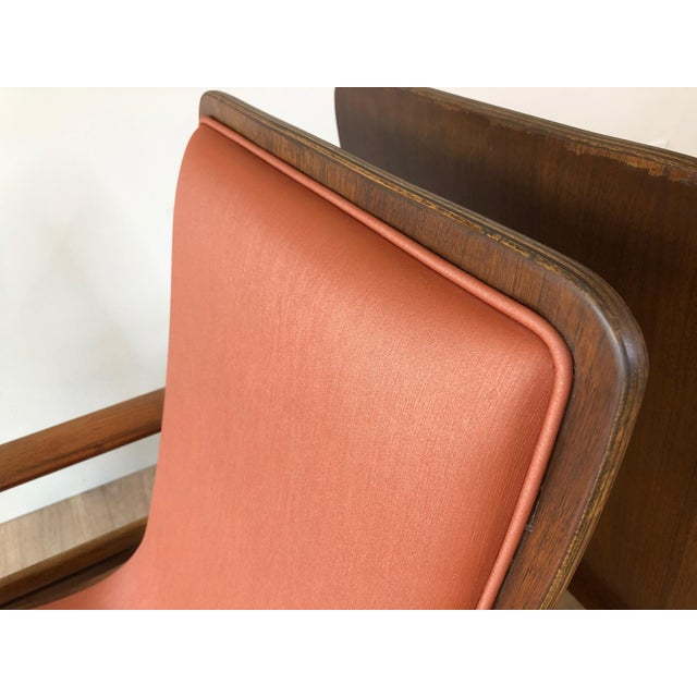 Metal Vintage Sven Ivar Dysthe Norwegian Armchairs With New Upholstery - a Pair For Sale - Image 7 of 9