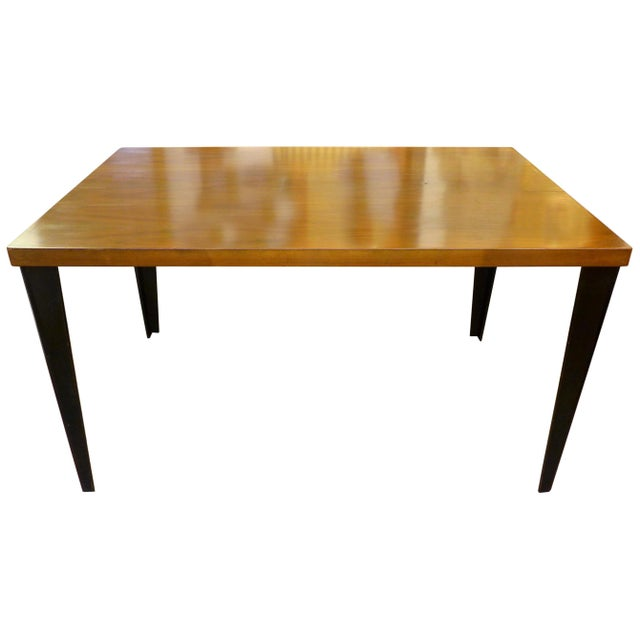 Wood DTW-1 Table by Charles Eames for Herman Miller For Sale - Image 7 of 7