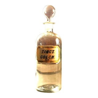 1860s Doctors Apothecary Pharmacy Bottle For Sale