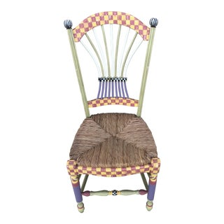 Mackenzie Childs Chair For Sale