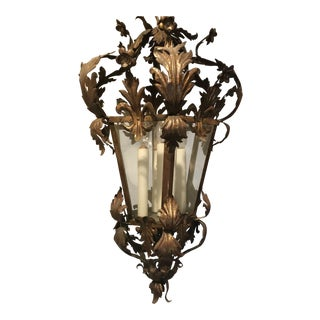 Venetian Acanthus Leaf Pendant Light For Sale