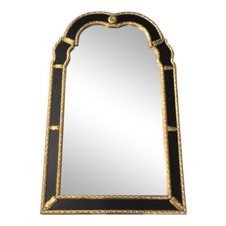 Traditional Ebonized Wall Mirror