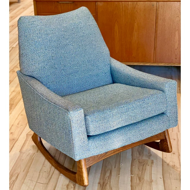 Vintage Mid-Century Adrian Pearsall for Craft Associates Rocking Chair For Sale - Image 11 of 11