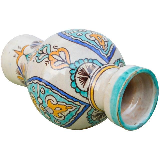 Ceramic Moorish Ceramic Vase For Sale - Image 7 of 9