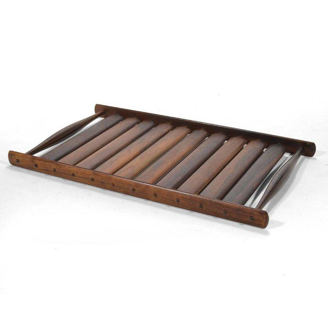 Rosewood Jens Quistgaard Rosewood Tray by Dansk For Sale - Image 7 of 7