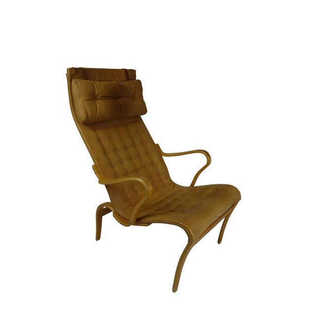 Mid-Century Modern Bruno Mathsson Miranda Lounge Chair For Sale - Image 3 of 10
