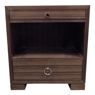 Modern Side Table, Chest, Night Stand With Single Drawer For Sale