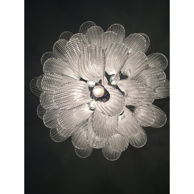 "Modern Murano Glass ""Selle"" Sputnik Chandelier For Sale - Image 10 of 11"