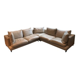 Camerich 3-Piece Leather Sectional Sofa