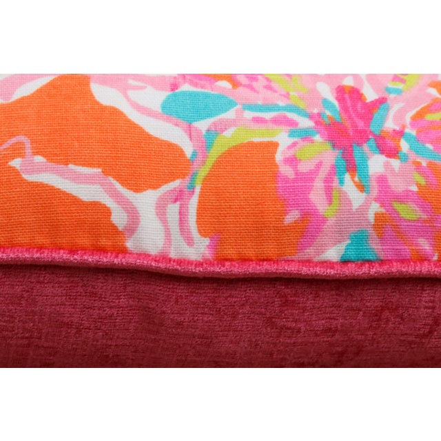 a6680cc504db5f Lilly Pulitzer's Besame Mucho Feather/Down Pillows - a Pair For Sale In New  York