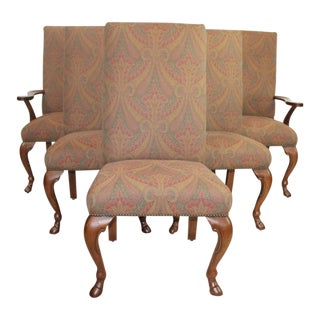 Ralph Lauren's Paisley Dining Chairs - Set of 6 For Sale
