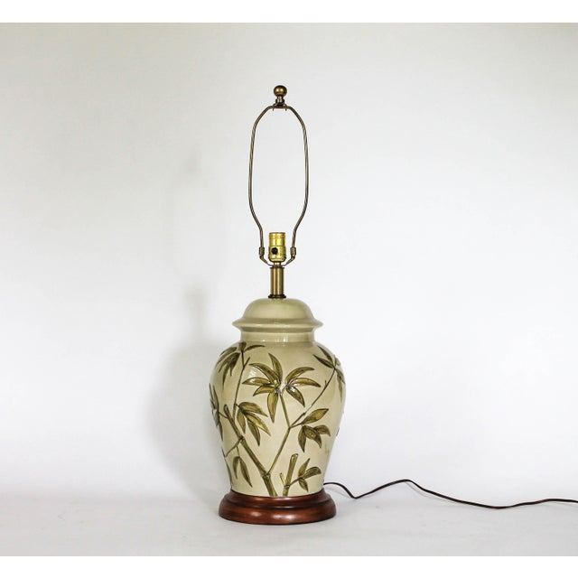 Frederick Cooper Frederick Cooper Table Lamp W/ Bamboo Motif For Sale - Image 4 of 11
