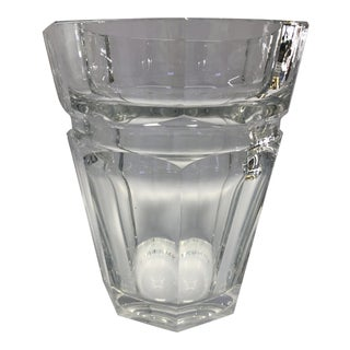 Vintage Baccarat Crystal Ice Bucket For Sale