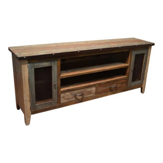 Industrial Rustic Console