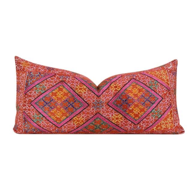Diamond Antique Swati Pillow For Sale
