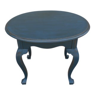 Ethan Allen Heirloom Oval Occasional Table/Side Table For Sale