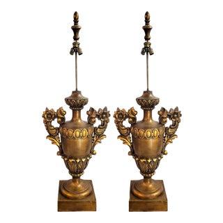 Monumental 55h Italian Table/Floor Lamps For Sale