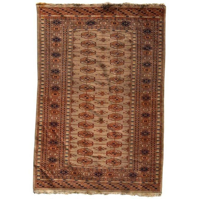Silk Antique Persian Praying Rug, 1920s For Sale - Image 7 of 7