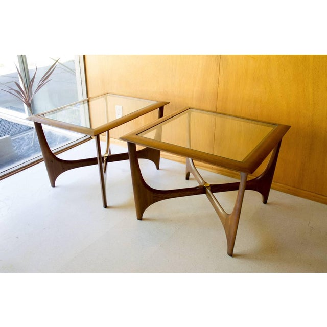 Lane Pearsall Coffee Table: Vintage Mid Century Lane Adrian Pearsall Tables- 3 Pieces
