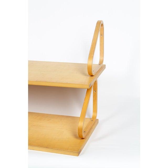 1970s 1970s Alvar Aalto Shelves - a Pair For Sale - Image 5 of 10