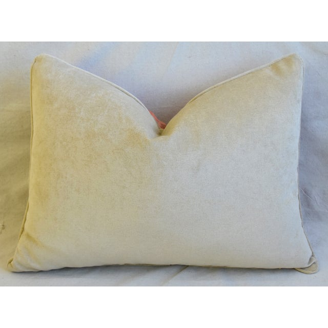 """Italian Fortuny Festoni Feather/Down Pillows 24"""" X 18"""" - Pair For Sale - Image 10 of 13"""