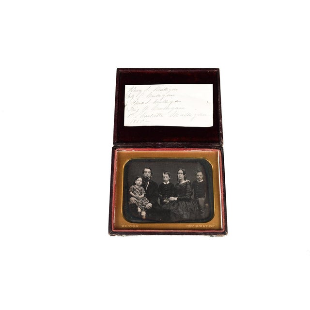 Antique Miniature Portrait by Henry Colton Shumway For Sale In Los Angeles - Image 6 of 10