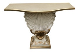 Image of Foyer Demi-lune Tables