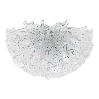 Venetian Murano Glass Dahlia Chandelier For Sale