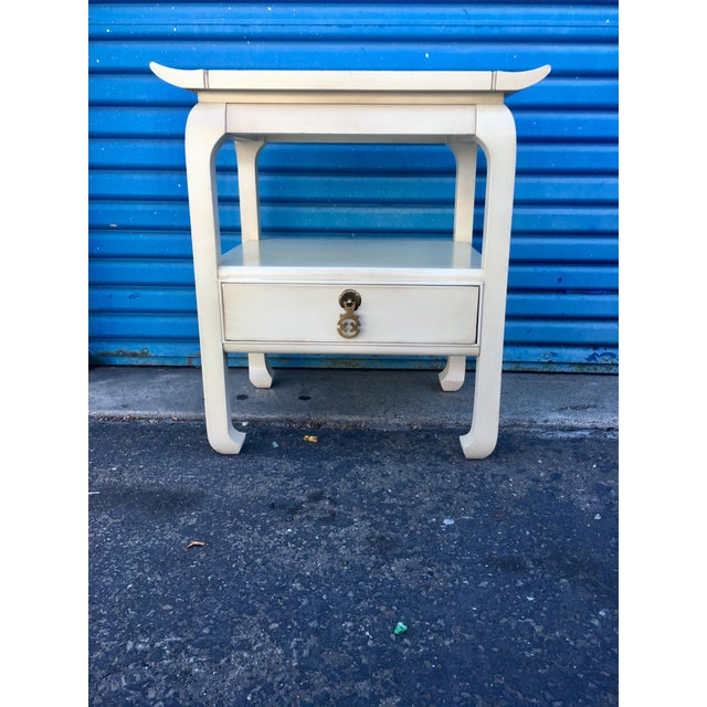 1960's Kent Coffey Chinoiserie 'Amerasia' Nightstand For Sale - Image 11 of 11