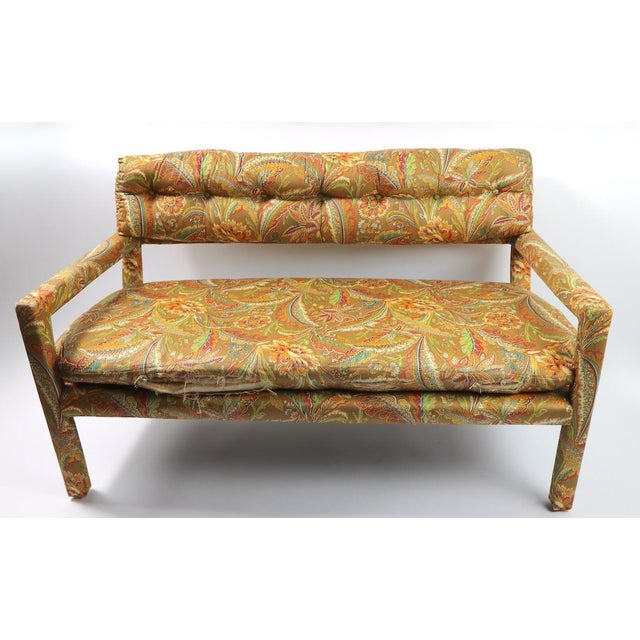 Groovy All Upholstered Bench by Classic Gallery Inc. After Baughman For Sale - Image 10 of 12