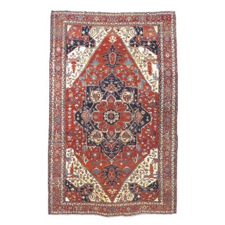 Over-Sized Serapi Carpet For Sale