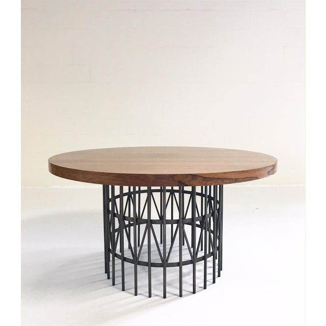 1960s Milo Baughman Rosewood and Brass Coffee Table For Sale - Image 5 of 5