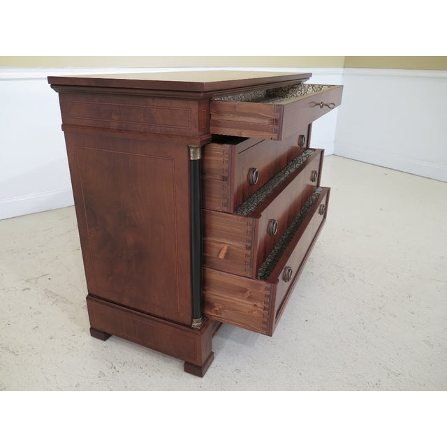 Decorative Crafts Italian Walnut Chest For Sale In Philadelphia - Image 6 of 13