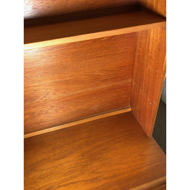 Midcentury Teak Wall Unit by Meredew For Sale - Image 9 of 13