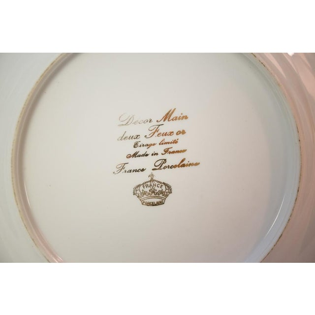 Vintage French Porcelain Dinner Set - Set of 42 For Sale - Image 4 of 10