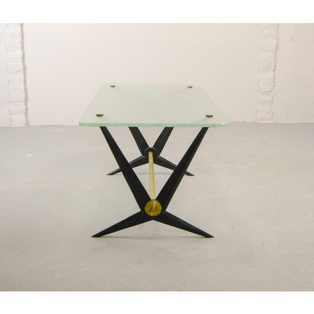 Angelo Ostuni Mid-Century Italian Design Side Table Designed by Angelo Ostuni, Italy, 1950s For Sale - Image 4 of 11