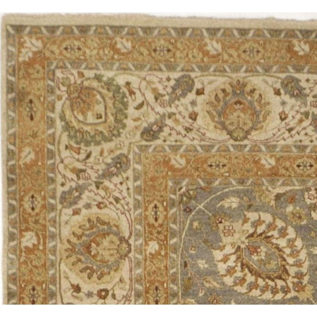 """Antique revival rug in the Haj Jalili style. Allover floral pattern. Limited production. 10'x 14'5"""""""