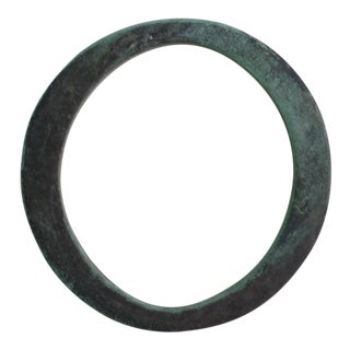 19th Century Antique Bronze Letter 'O' For Sale