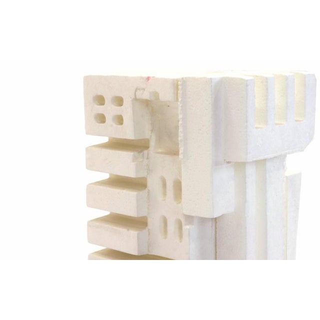 Irving Harper Sculpture of Styrofoam from His Paper Sculpture Series For Sale In Kansas City - Image 6 of 9